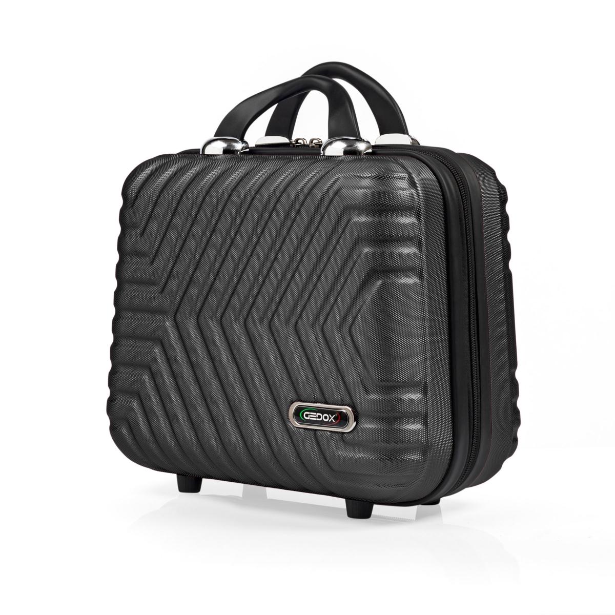 G&D Polo Suitcase Abs Makyaj&Hostes El Çantası Model:615.01 Siyah