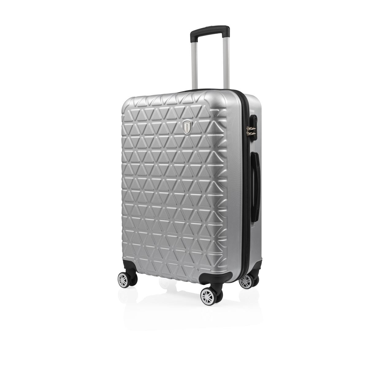 Gedox Abs 3'lü Valiz Seyahat Seti - Model:800.03 Gri