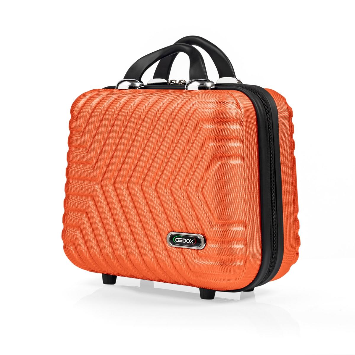 G&D Polo Suitcase Abs Makyaj&Hostes El Çantası Model:615.15 Turuncu