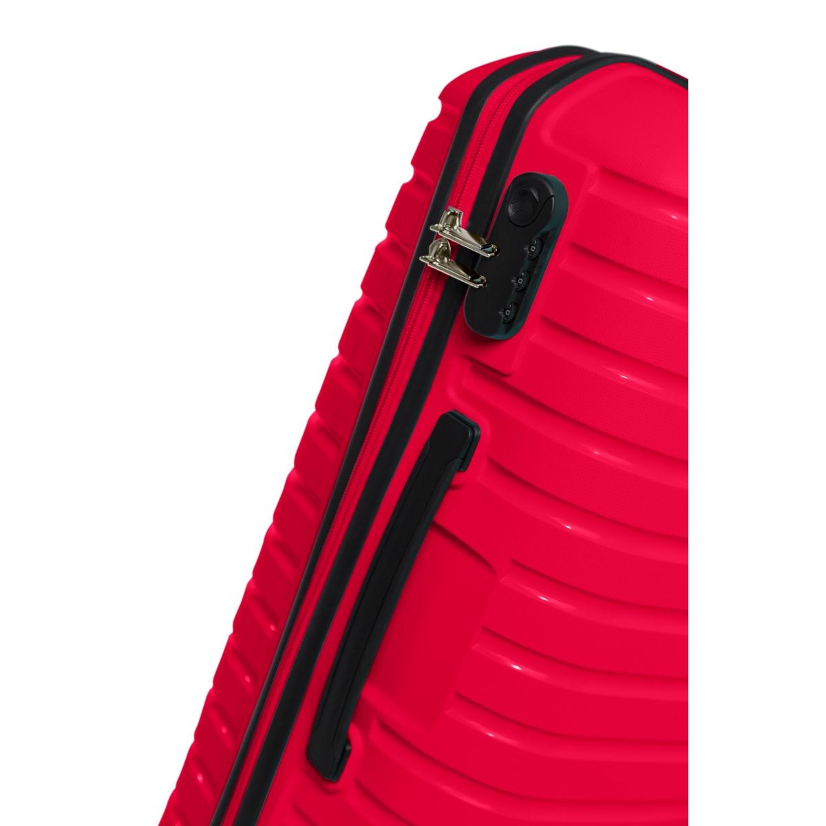 G&D Polo Suitcase PP Enjeksiyon 3'lü Valiz Seyahat Seti - Model 400.10 Fuşya Pembe