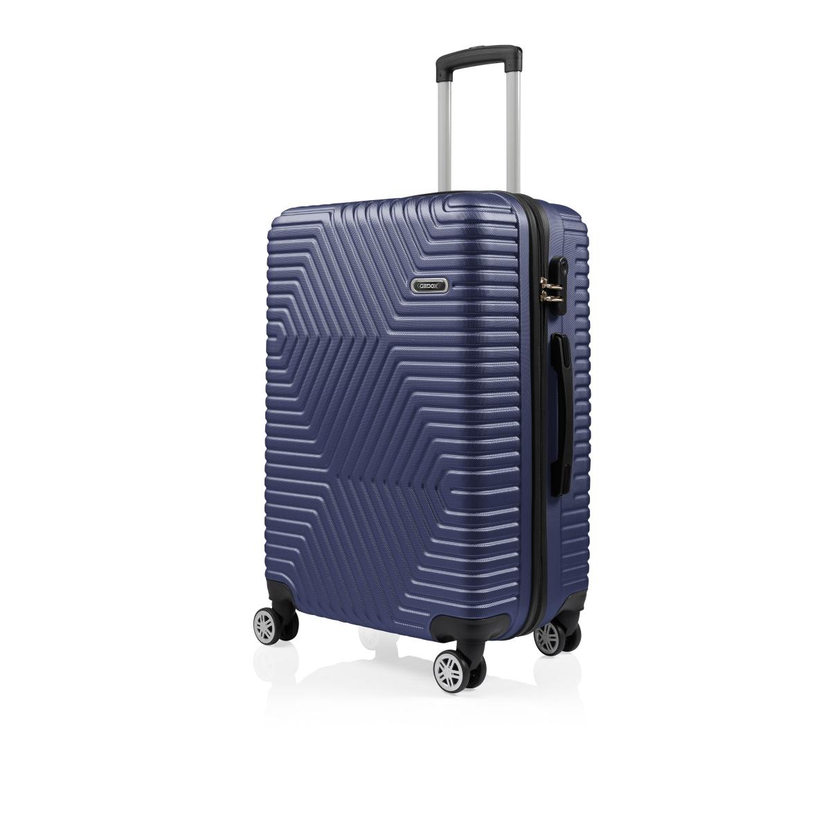 G&D Polo Suitcase ABS 3'lü Lüx Valiz Seyahat Seti - Model:600.04 Lacivert