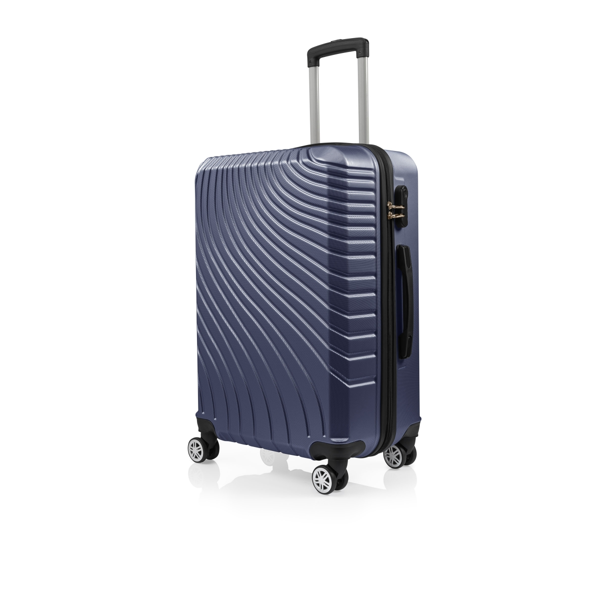 Gedox Abs 3'lü Valiz Seyahat Seti - Model:700.04 Lacivert