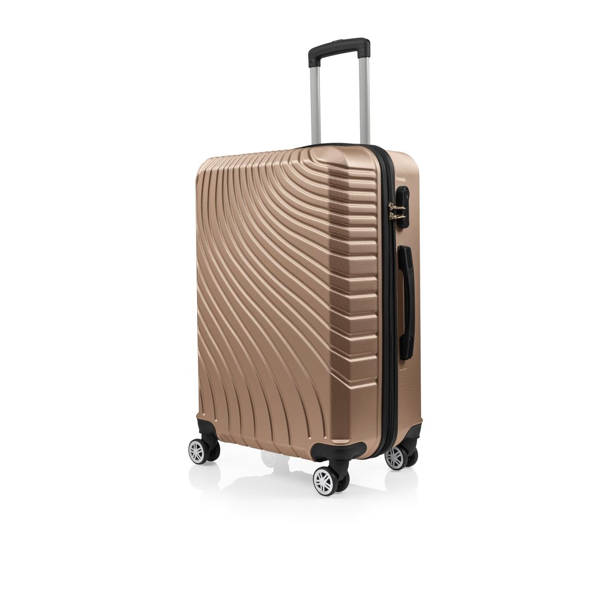 Gedox Abs 3'lü Valiz Seyahat Seti - Model:700.06 Gold