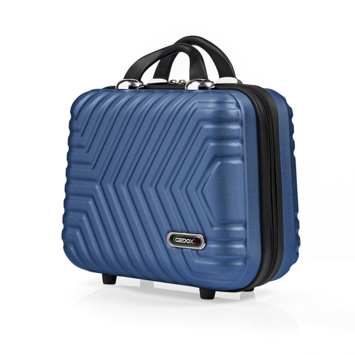G&D Polo Suitcase Abs Makyaj&Hostes El Çantası Model:615.05 Çivit Mavi