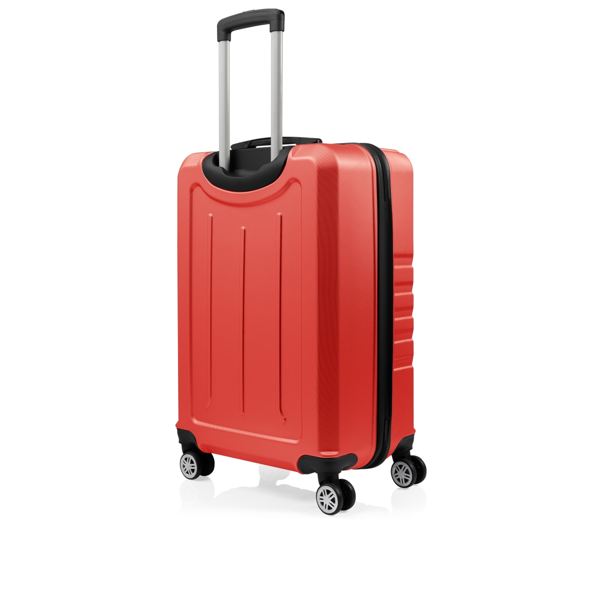 Gedox Abs 3'lü Valiz Seyahat Seti - Model:700.14 Kırmızı