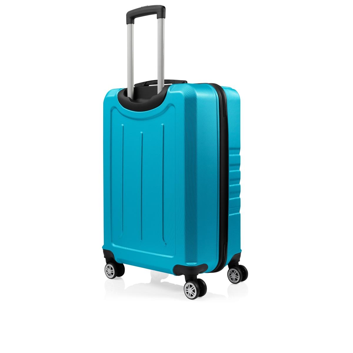 Gedox Abs 3'lü Valiz Seyahat Seti - Model:700.16 Turkuaz