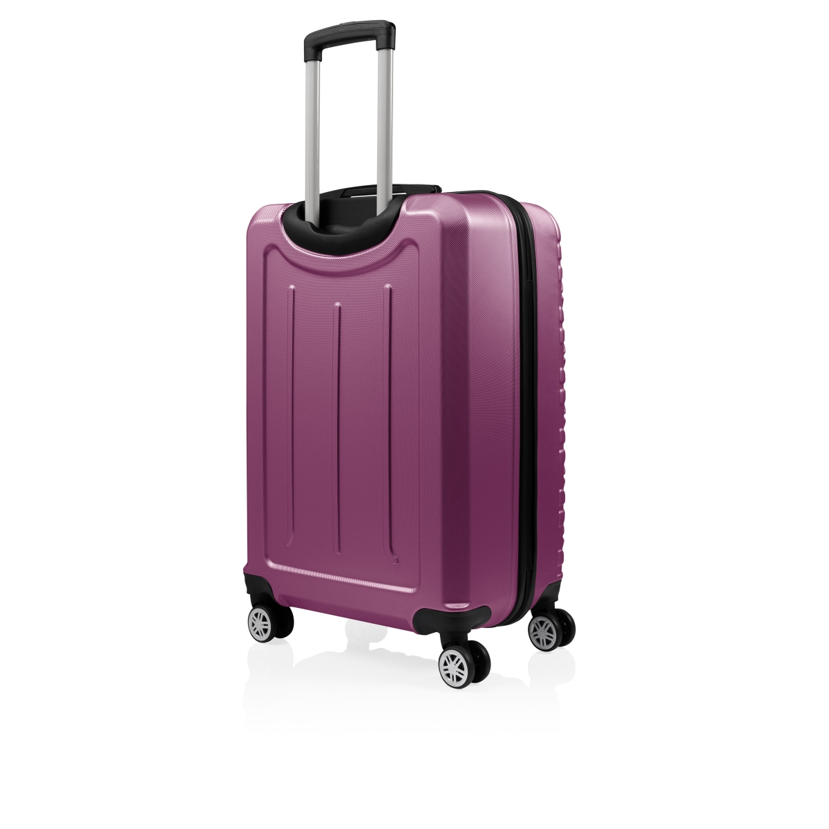 Gedox Abs 3'lü Valiz Seyahat Seti - Model:800.09 Mürdüm
