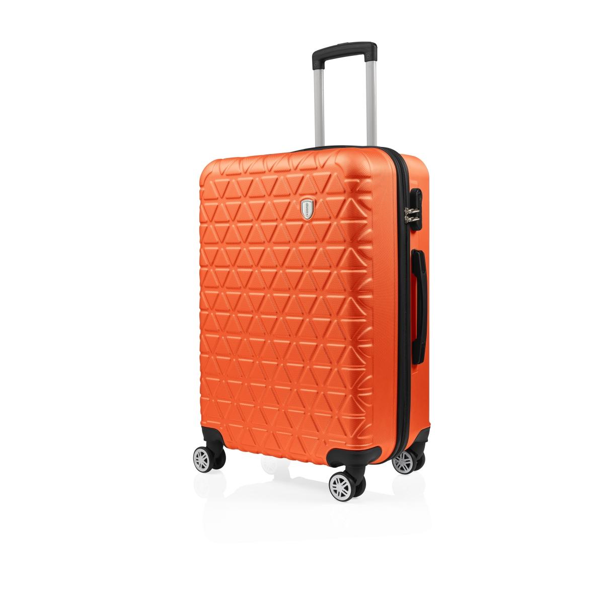 Gedox Abs 3'lü Valiz Seyahat Seti - Model:800.15 Turuncu