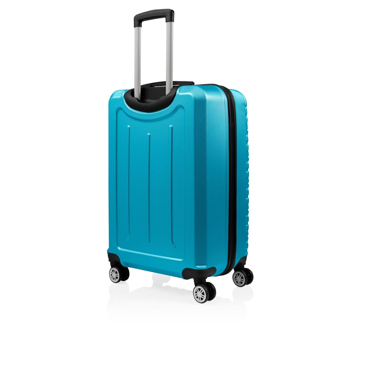 Gedox Abs 3'lü Valiz Seyahat Seti - Model:800.16 Turkuaz
