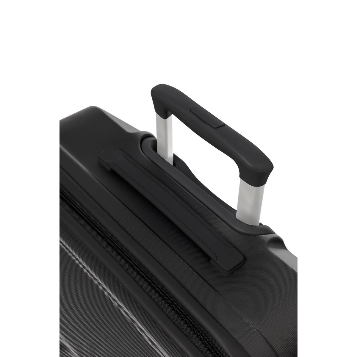 Gedox Abs Premium Tonaton 3'lü Valiz Seyahat Seti - Model:500.01 Siyah