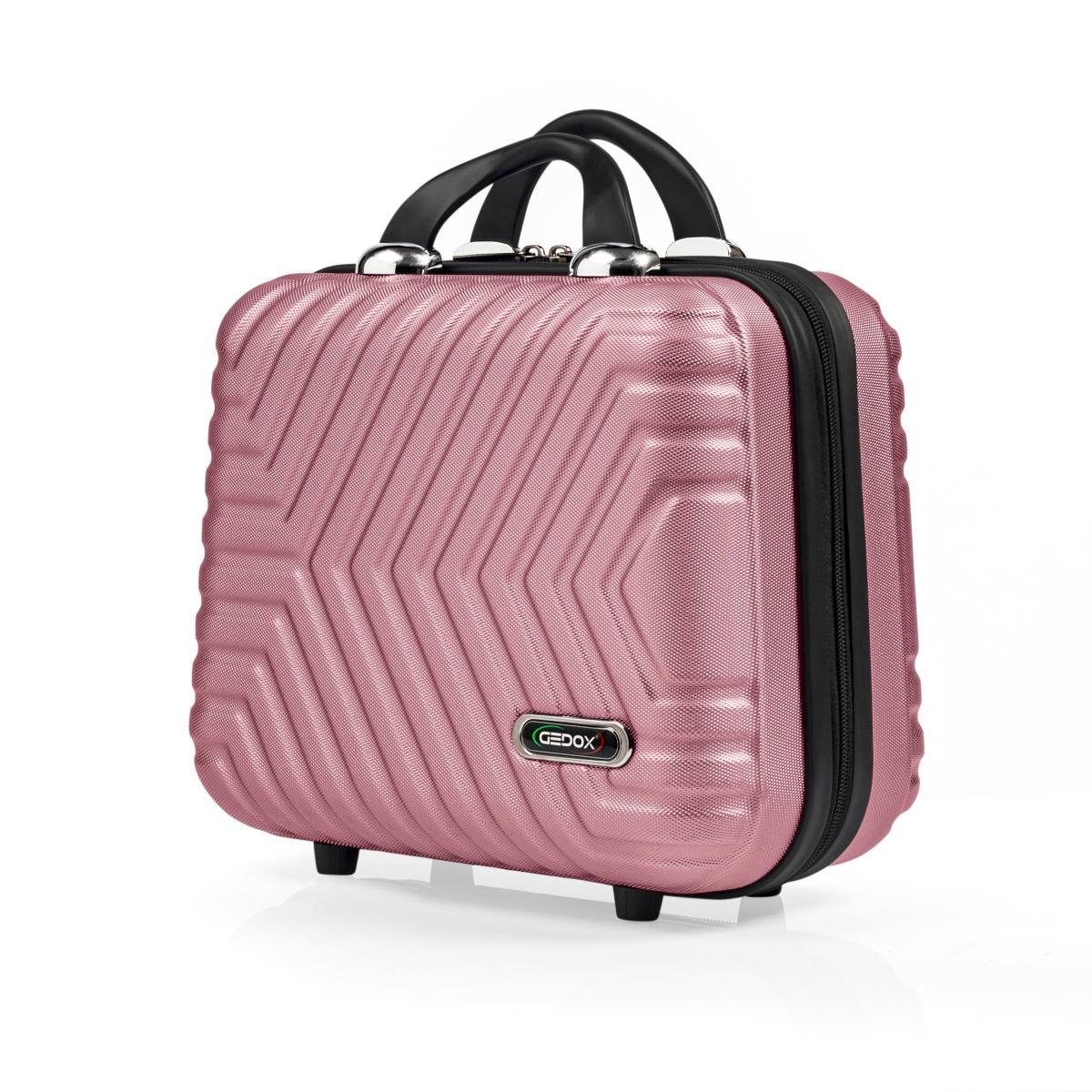 G&D Polo Suitcase Abs Makyaj&Hostes El Çantası Model:615.08 Gül Kurusu