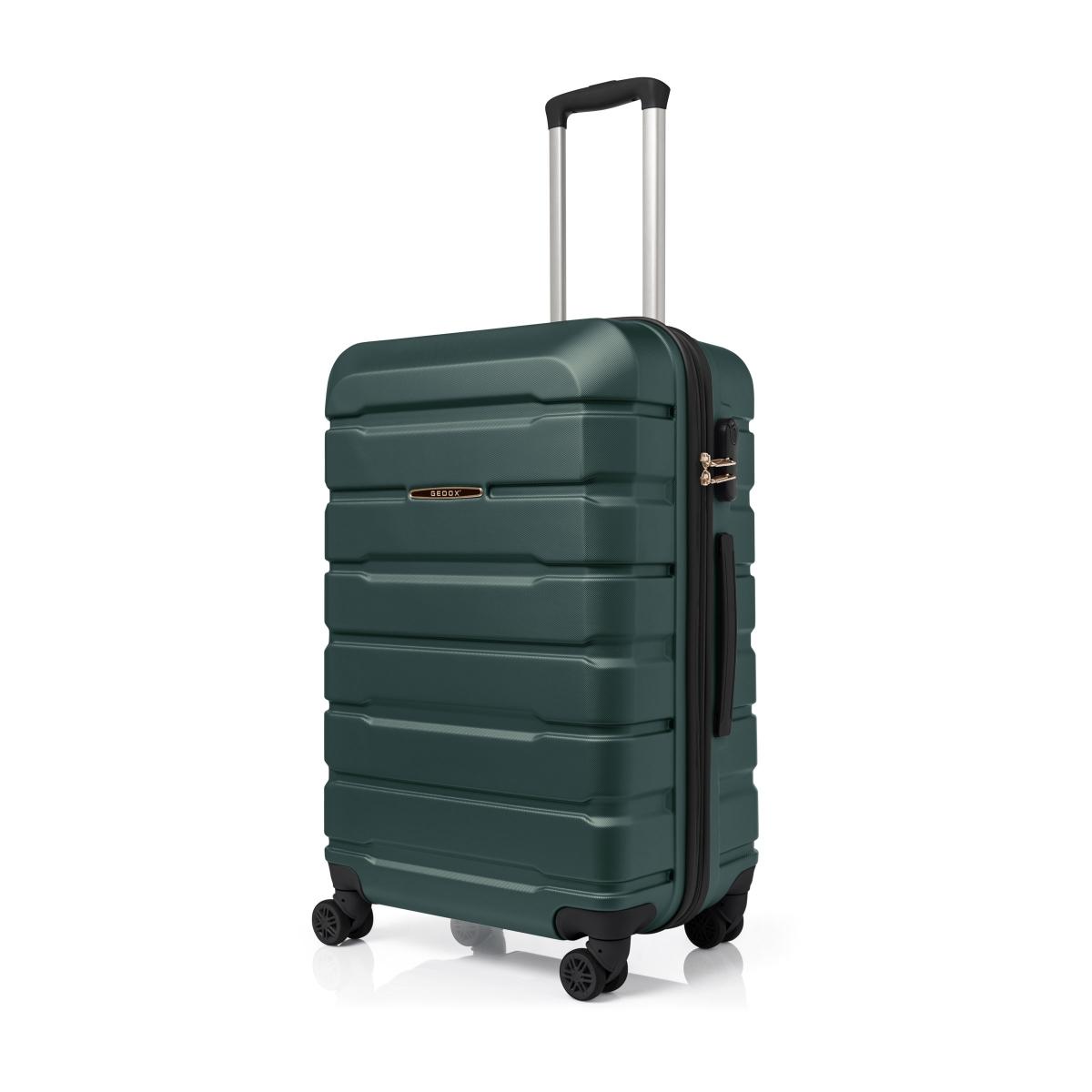 Gedox Abs Premium Tonaton 3'lü Valiz Seyahat Seti - Model:500.07 Haki Yeşil