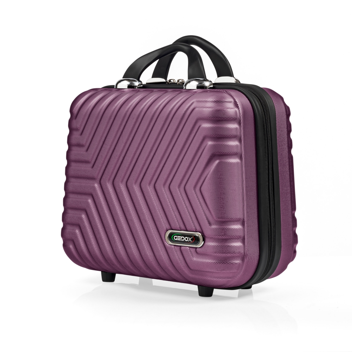G&D Polo Suitcase Abs Makyaj&Hostes El Çantası Model:615.09 Mürdüm