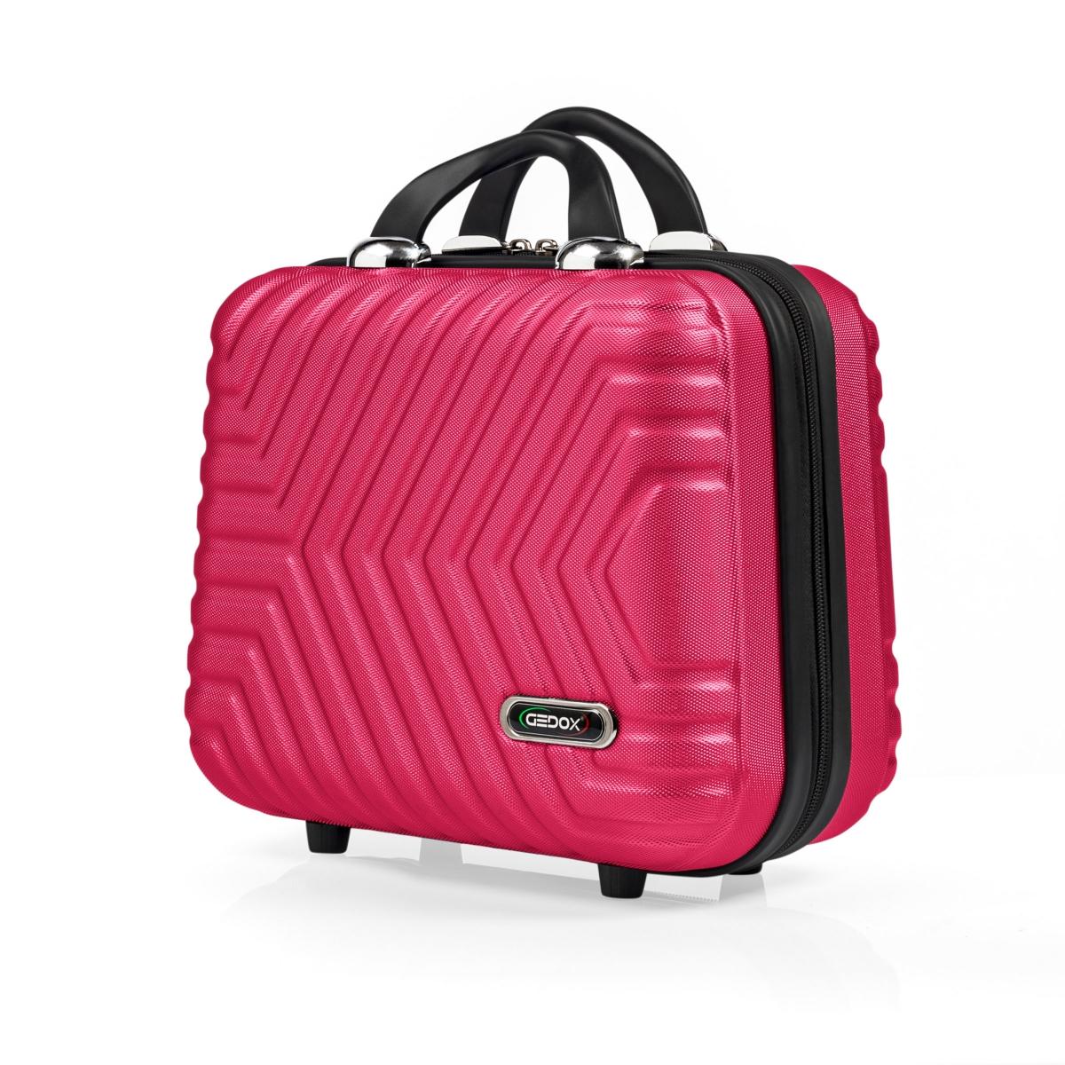G&D Polo Suitcase Abs Makyaj&Hostes El Çantası Model:615.10 Fuşya Pembe