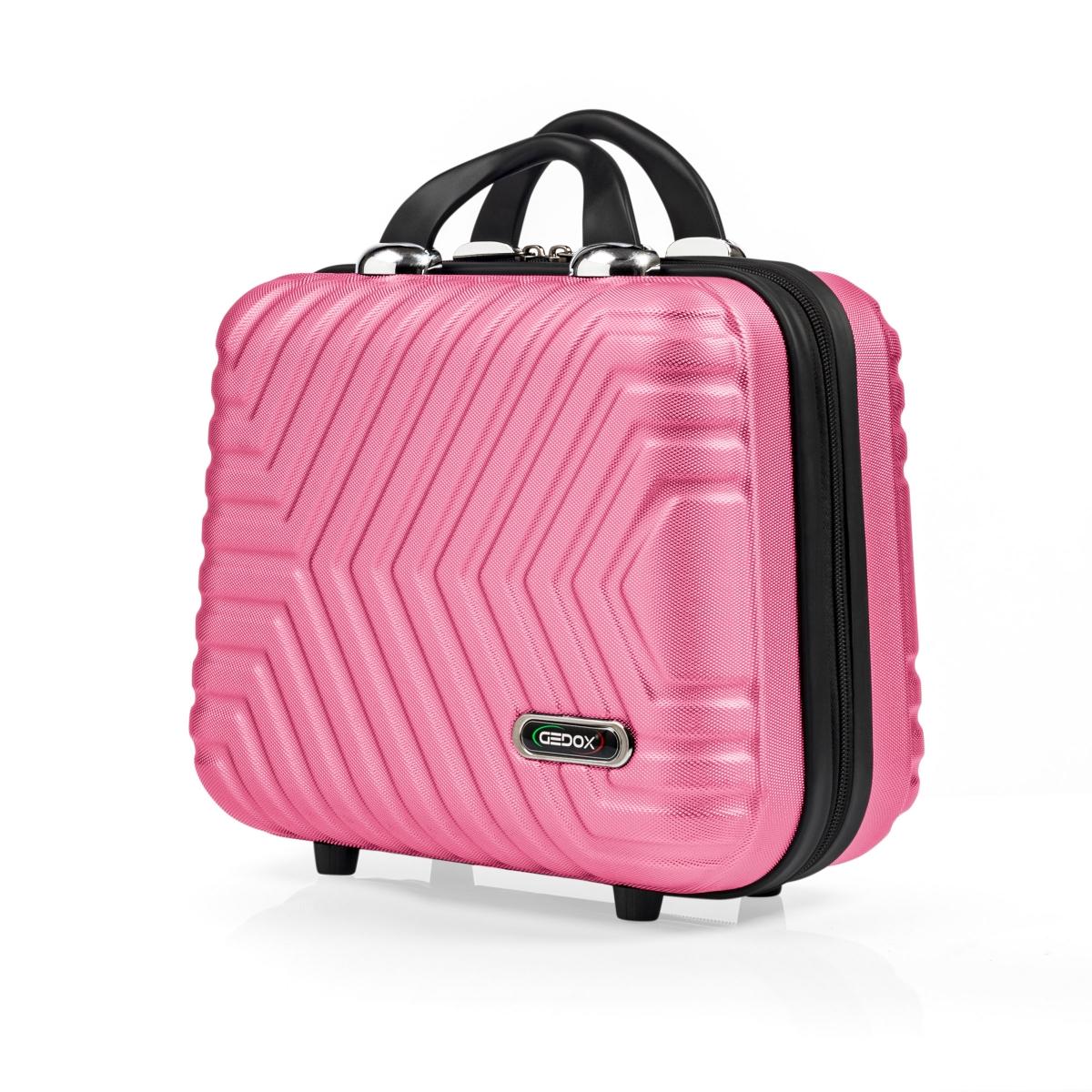 G&D Polo Suitcase Abs Makyaj&Hostes El Çantası Model:615.11 Pudra Pembe