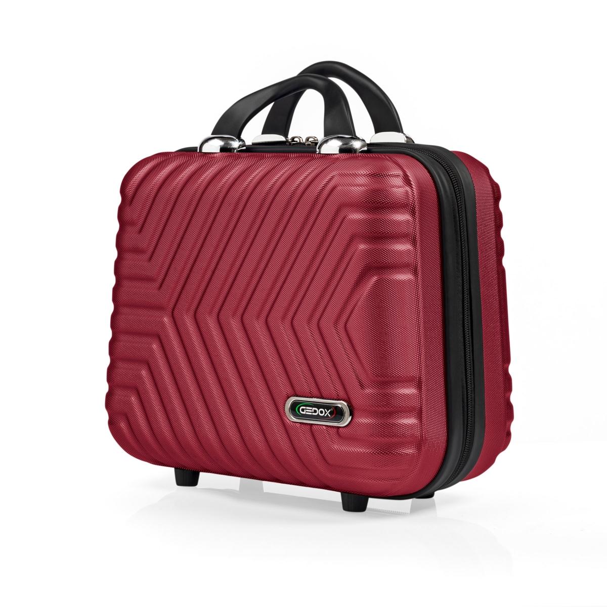 G&D Polo Suitcase Abs Makyaj&Hostes El Çantası Model:615.13 Bordo